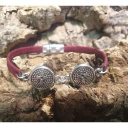 Bracelet en liège 2 Croix