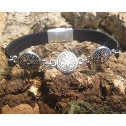 Bracelets en liège 3 croix