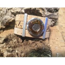 Bracelet en liège et swarovski