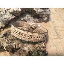 Bracelet en liège informel