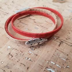 Bracelet en liège 3...