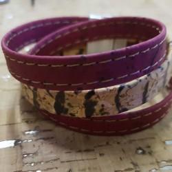 Bracelet en liège 3 fils