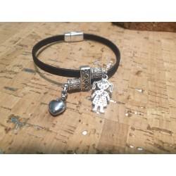 Bracelet en liège maman
