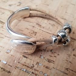Demi-bracelet en liège